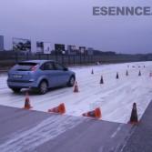 Překážková dráha kurzu bezpečné jízdy v Příbrami