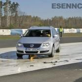 Kurz bezpečné jízdy a nácvik brždění